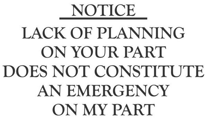 Lack Planning Part Quote Your