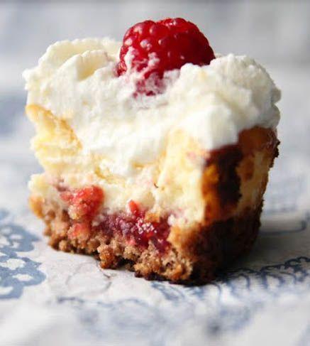 Raspberry Cheesecake Cupcakes, these are AMAZING!