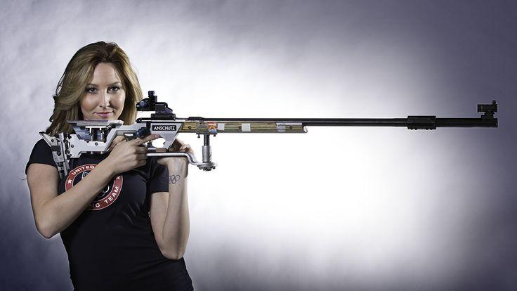 Olympic Shooter Amanda Furrer.
