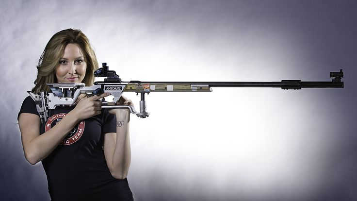 Olympic Shooter Amanda Furrer.
