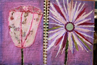 Torn Paper: Torn Paper, Journals Challenges, Journals Journey S, Art Journals, Paper Art, Journey S Challenges, Journals Ideas, Challenges Torn