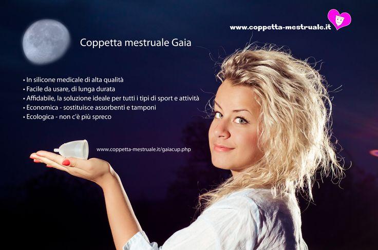 Gaiacup: Ottima coppetta!. https://www.coppetta-mestruale.it/gaiacup.php #gaiacup