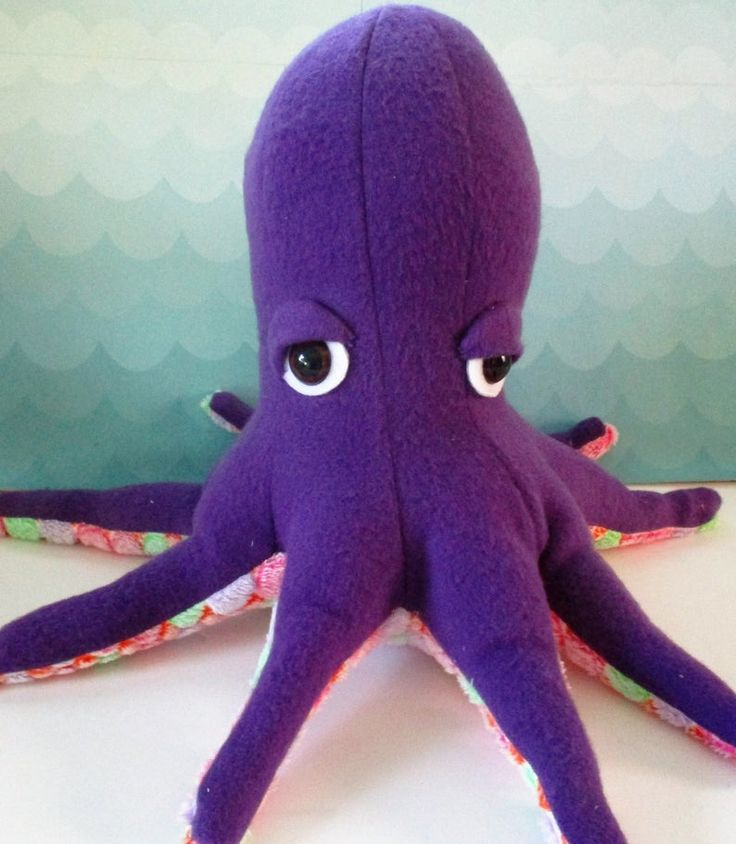 Octopus plushie, octopus softie, stuffed octopus, aquatic gift, nautical toy, purple octopus, gift for child, plushie, sea animal