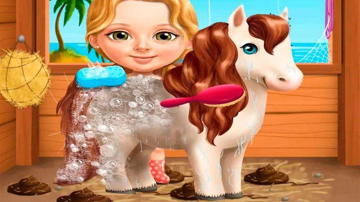 Малышка Катя Уборка и веселье на пляже Мультики Летние забавы Игра для д...