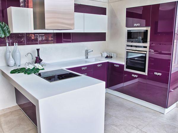 п-образная кухня в студии - Поиск в Google