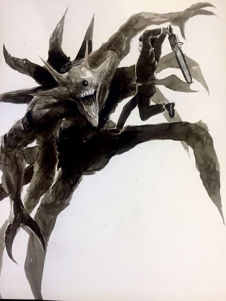 Furuta and Eto ||| Tokyo Ghoul: Re Fan Art by sociopathinblack on Tumblr