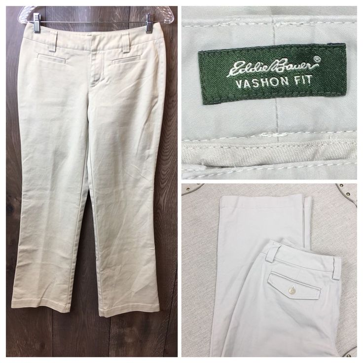 Eddie Bauer Womens Size 2 Vashon Fit Dress Slacks Pants | WW #EddieBauer #DressPants