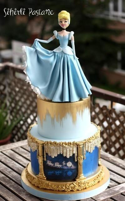 Cinderella Cake by Sihirli Pastane