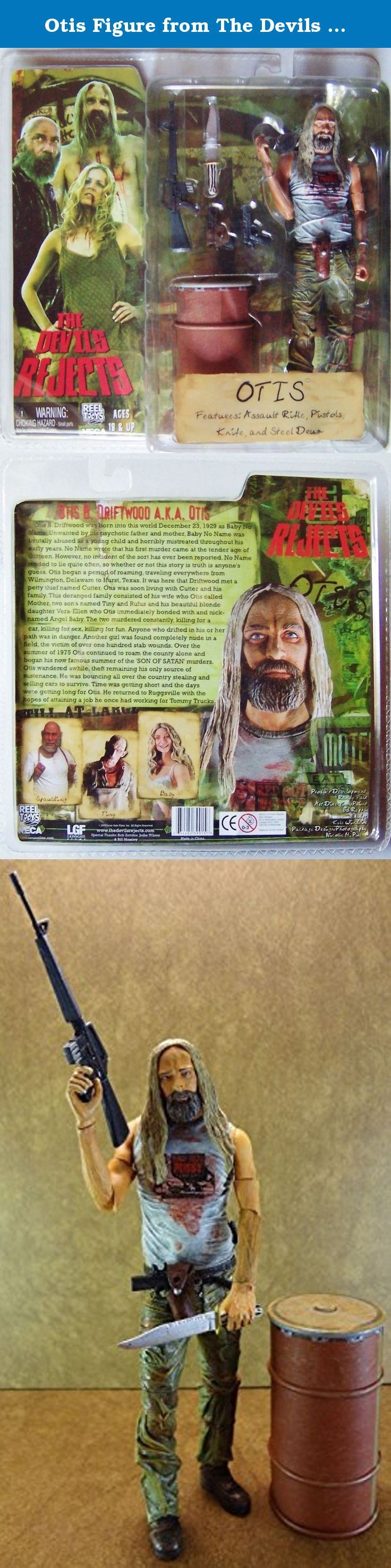 """Otis Figure from The Devils Rejects. Neca The Devils Rejects Otis Driftwood 7"""" Inch."""
