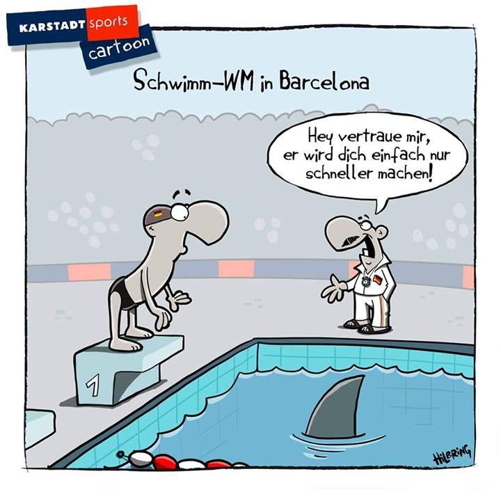 Schwimm-WM-Training.