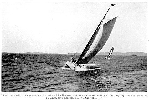 """""""The Joy Of Small-Boat Sailing,"""" an article about sailing small craft in the San Francisco Bay by Jack London"""