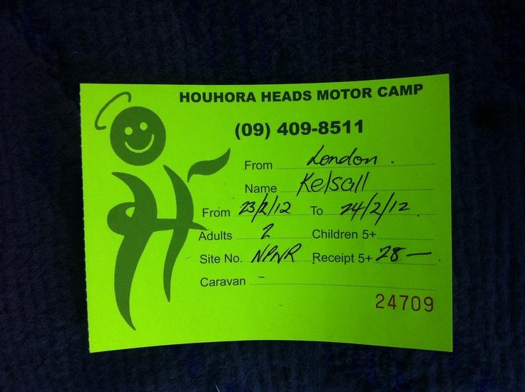 Houhora Heads camping