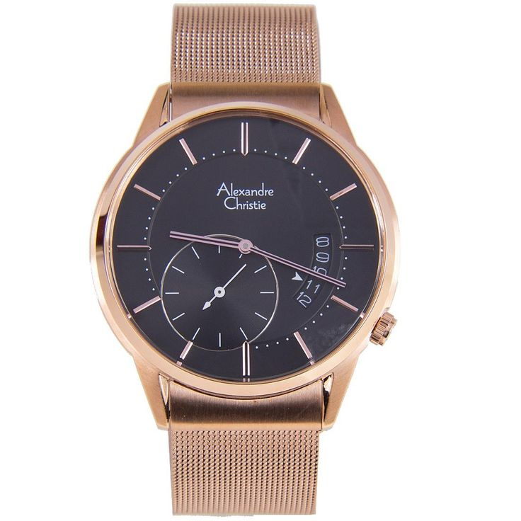 A-Watches.com - 8519MSBRGBA Alexandre Christie Male Watch, $221.00 (https://www.a-watches.com/8519msbrgba-alexandre-christie-male-watch/)
