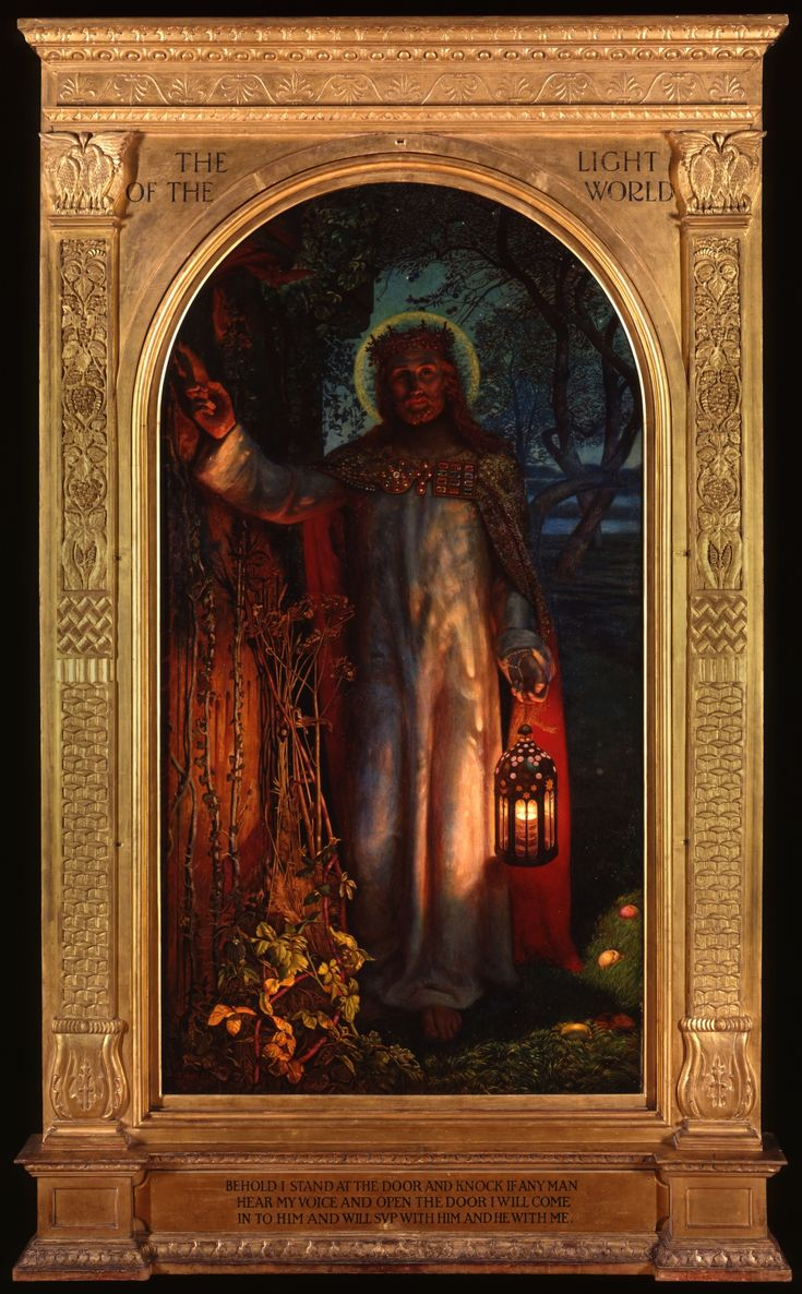 light of the world | The Light of the World, by William Holman Hunt Enlarge