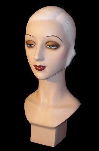 Flapper Mannequin Bust, Mannequin Store