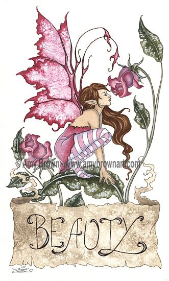 Amy Brown Beauty PrintOpen Edition Prints  Paper size: 8.5x11 (unless otherwise noted)  Prints will have a white border around the edges unless otherwise noted. @12.00