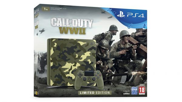Limited Edition Call of Duty WW2 PS4 console available to pre-order in the UK