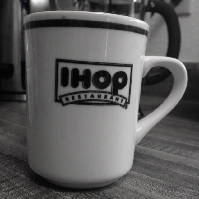 Yes, I hop for coffee