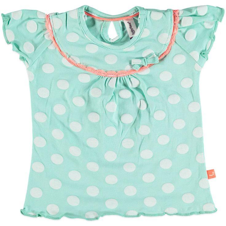 Babyface Newborn Babykleding Mintgroen Meisjes Shirt Leilani Kinderkleding, Kindermode en Babykleding www.kienk.nl