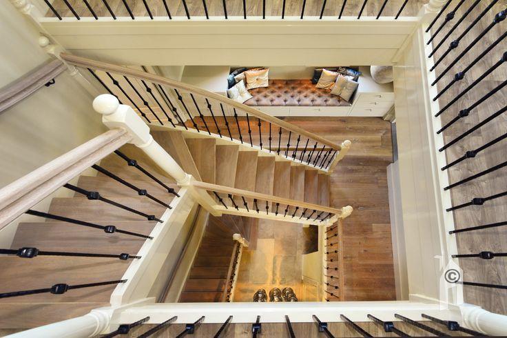 Een echt trappenhuis.