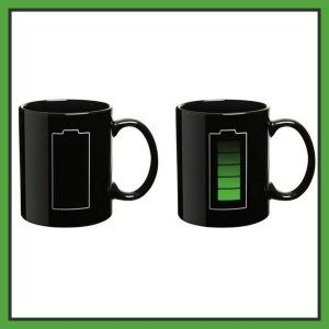 For all the Geeks, the people who do not like cold coffee/tea, and for all the coffee/tea lovers, this mug is made for you. When your coffee is hot, the battery is green, luke warm, the color fades and cold, the battery is black. http://theceramicchefknives.com/ceramic-mugs-variety/ 60th Birthday mug, 7 Piece 15-Ounce Mug Tree Set with 6 Assorted Colors, Adorable Ladybug Coffee Mug Inexpensive Gift Item, Cappuccino Mug, Cappuccino-Cup, Ceramic Day of the Dead Sugar Skull Coffee Mugs,