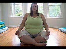 Йога для полных Как похудеть за 30 минут в день - YouTube