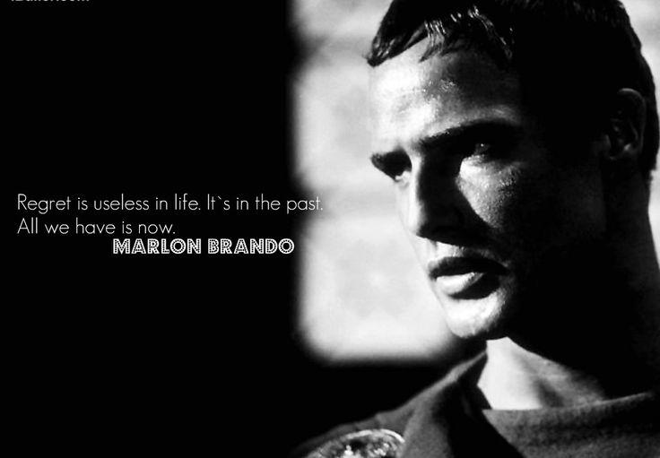 Acting Brand New Quotes: Quote Of Marlon Brando