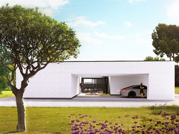 Dom jednorodzinny parterowy D01 w Poznaniu / One-storey single house D01 in Poznań / Malinowski studio