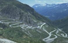San Bernardino Pass Switzerland / Italy