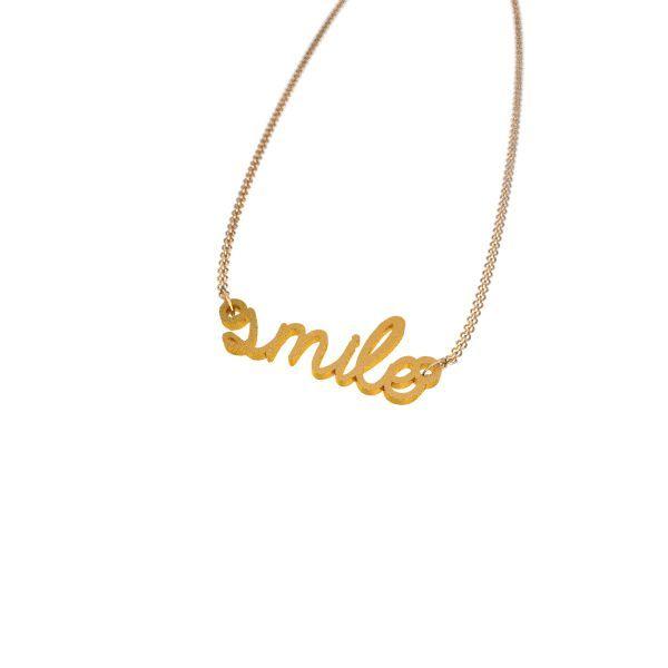 Smile Necklace - Zazzy