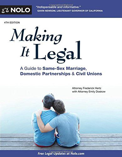 books on legalizing gay marriage