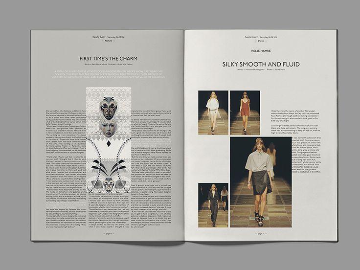 Dansk Daily paper summer 2011   DesignUnit