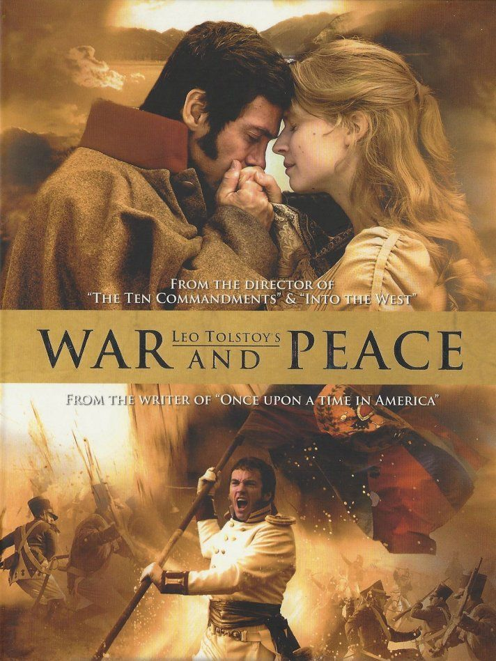 War And Peace (2007) In Tolstoy's timeless epic of love and loss, a circle of aristocrats finds their glittering world crumbling as war threatens imperial Russia. Set during the years of Napoleon's invasion of Russia, WAR AND PEACE follows the changing fortunes of brooding military hero Prince Andrej, his bookish friend Pierre, and the spirited but naïve Natasha.  Clémence Poésy, Alessio Boni, Alexander Beyer...TS drama