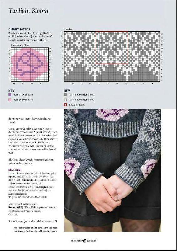 253 best fair isle images on Pinterest | Fair isles, Knitting ...