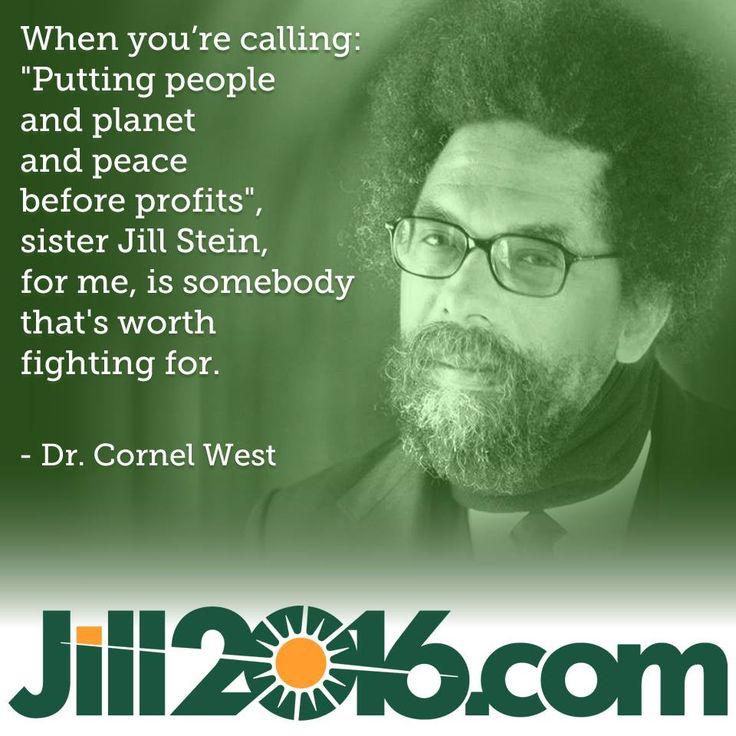 Cornel West #JillStein #GreenNewDeal