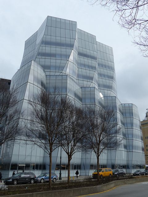 IAC Building by Frank Gehry