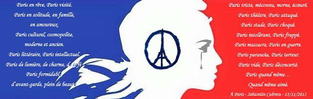 Paris en rêve 2015 - 13N - 2016   via Instagram http://ift.tt/2fJYKkI  .En couverture #JesuisParis A la une Actualité Civili Terrorisme