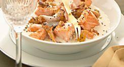 Plat gourmand : Blanquette de saumon