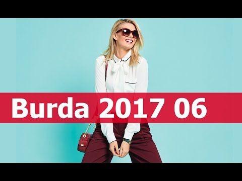 Burda 2017 06  технические рисунки + модели в деталях