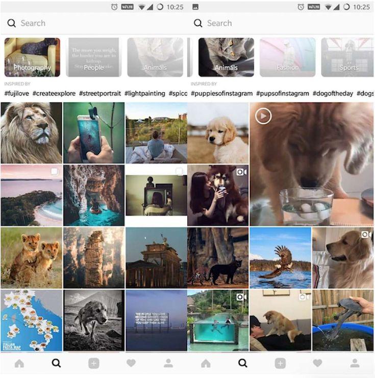 """La scheda Feed di Instagram è, probabilmente, quella in cui gli utenti trascorrono la maggior parte del proprio tempo, poiché è quella con le immagini ed i video delle persone e dei marchi che si é scelto di seguire. La scheda """"Esplora"""", d'altra parte, ha lo scopo di far eme..."""