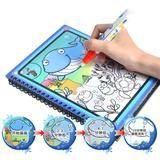 Magic Water Drawing Book Malbuch Doodle mit Magic Pen Painting Board Juguetes für Kinder Bildung Zeichnung Spielzeug