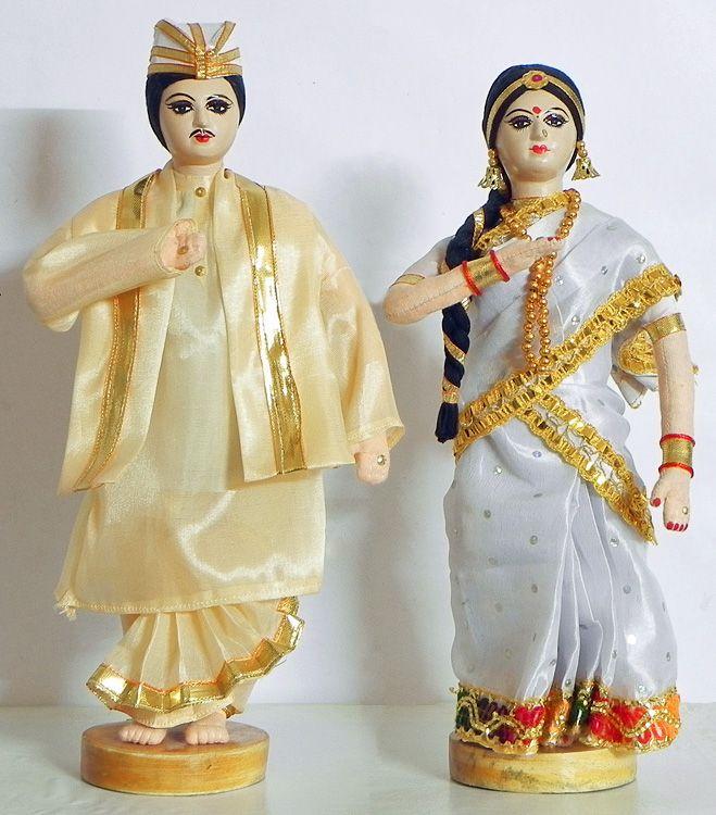 Assamese Couple (Cloth))