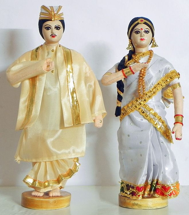 Assamese Couple (Cloth))