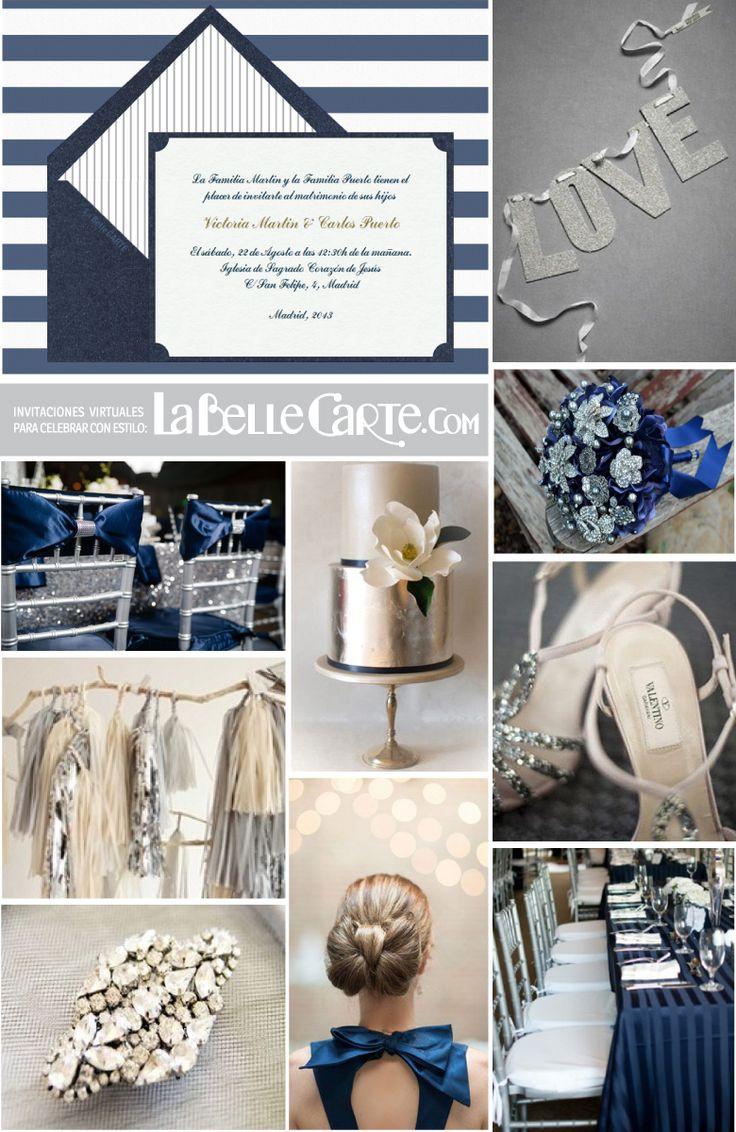 de boda para bodas ideas para bodas boda azul marino y