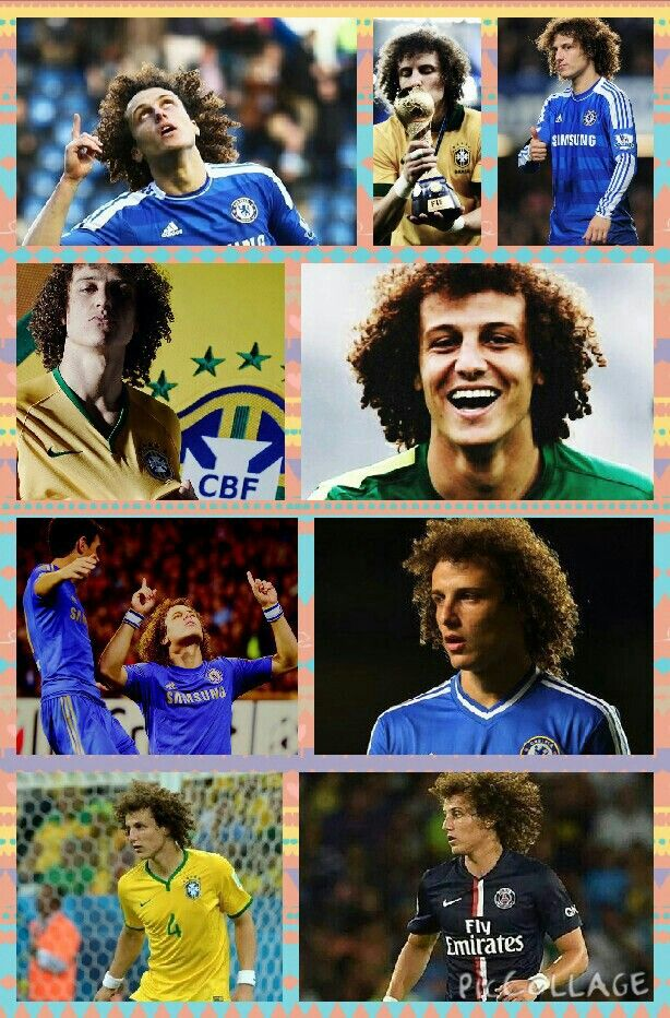 David Luiz...I miss seeing his face, and hair, on soda cans