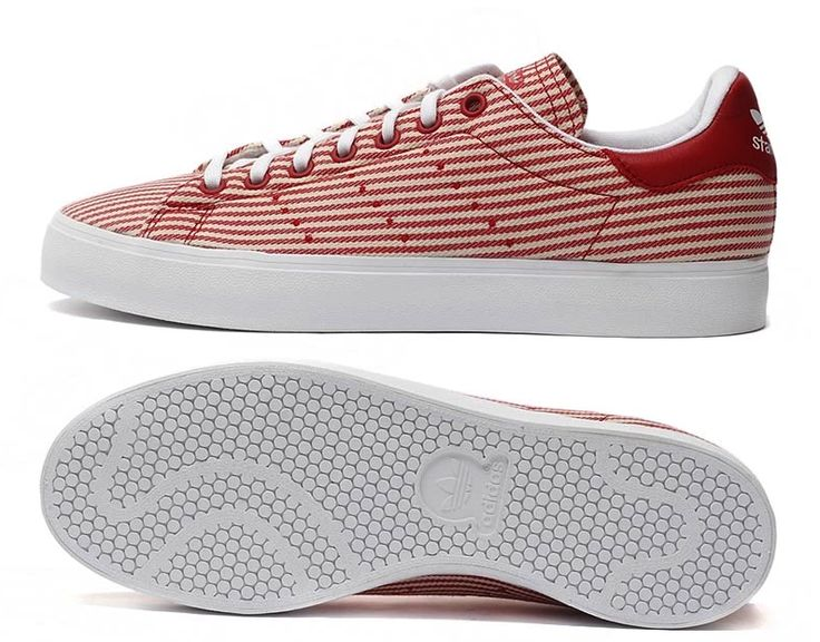 ADIDAS STAN SMITH RED STRIPED M17190 $169.00