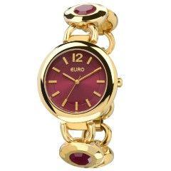 Relógio Euro Feminino  Mielec EU2035LVY/4R-Cereja