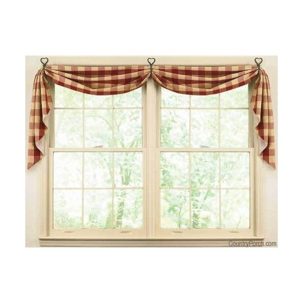 25 best ideas about swag curtains on pinterest for Kitchen window curtains