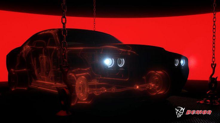 Conoce el Challenger SRT Demon 2018, el nuevo automovil de categoría muscle car que Dodge presenta este año.