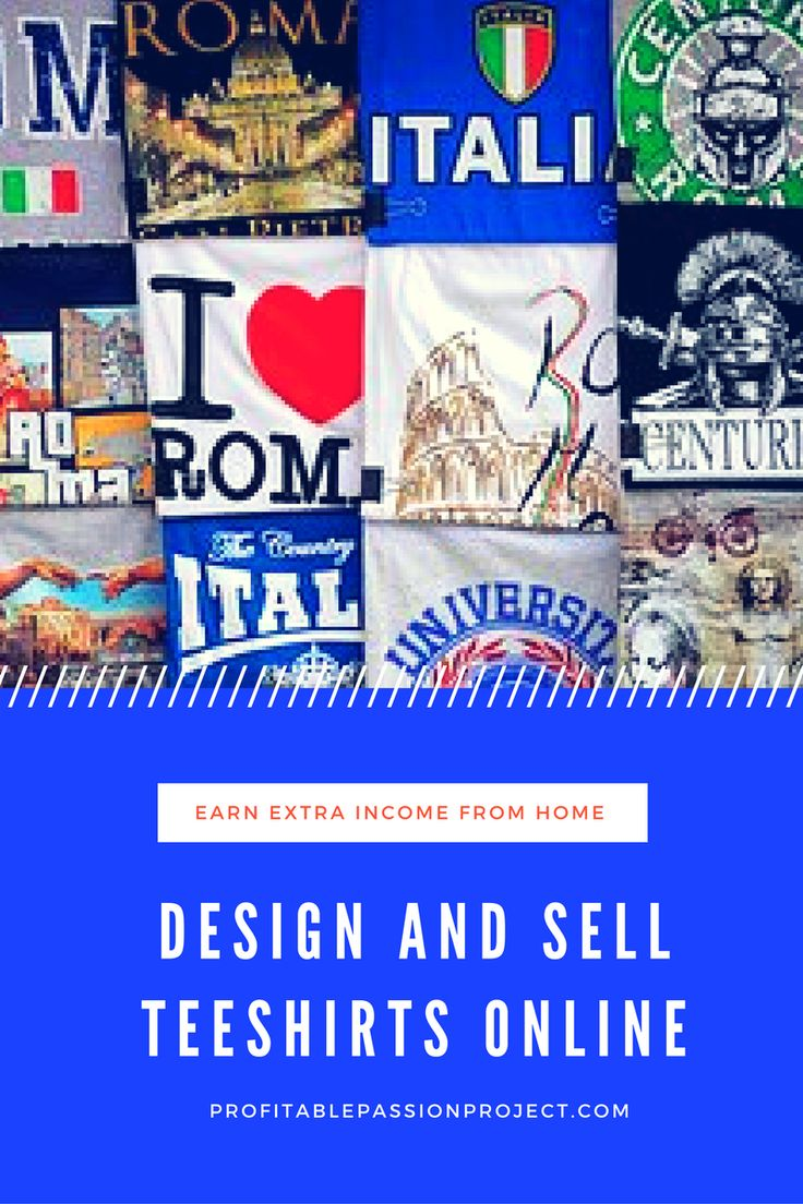 Design and sell online your own range of customized tee-shirts. Click through to read about this great opportunity.